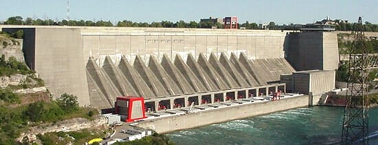 Hydro Power is one of the big economic drivers in the Niagara Falls area