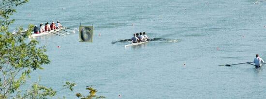 Port Dalhousie Henley Rowers on lake