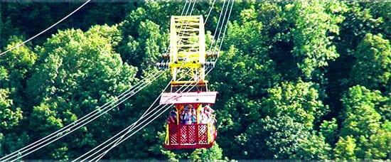 Niagara Falls' WhirlPool Gondola Tram