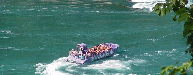 Niagara Falls Whirlpool Jet Boat