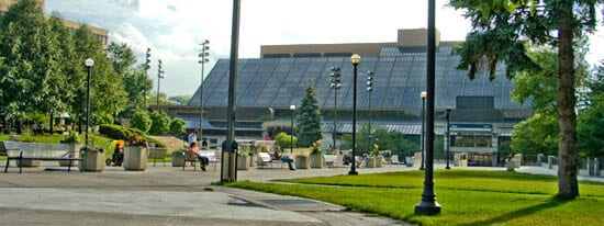 Mel Lastman Square and Civic Centre, in North York