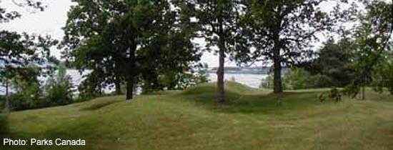 Serpent Mounds National Historic Site, near Keene
