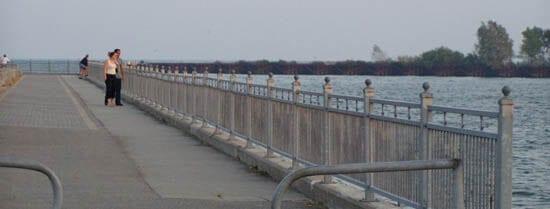 Whitby Shores boardwalk