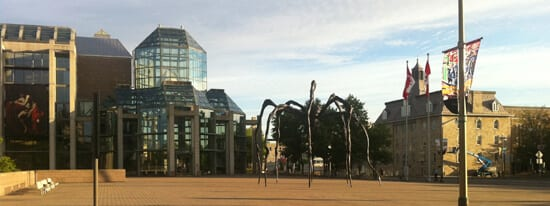 National Gallery beside the BywardMarket