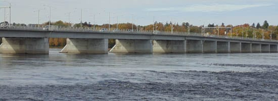 Champlain Bridge over the Champlain Rapids
