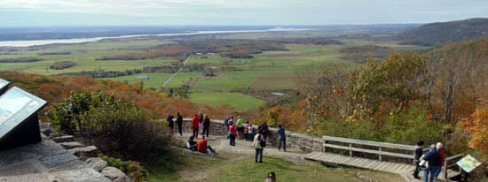 Gatineau Hills: Belvedere Lookout view up the Ottawa Valley