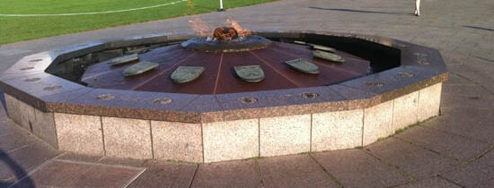 Parliament Hill Peace Flame