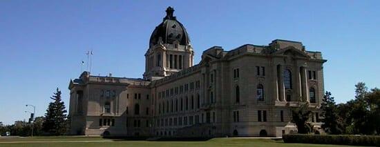 Saskatchewan Legislature, in Regina