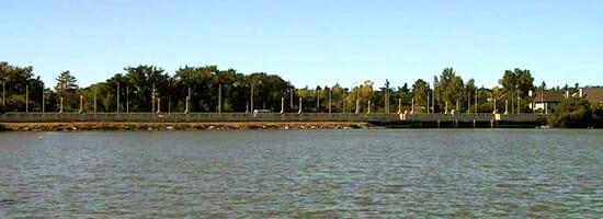 Wascana Lake, in Regina