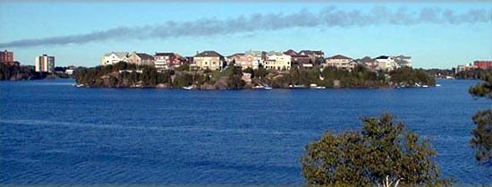 Maki Point homes in Sudbury