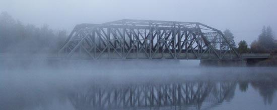 TCH Bridge over the Spanish River, near Naim Centre