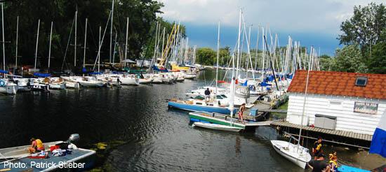 Toronto islands - Algonquin Island marina