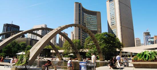 Toronto City Hall at Bay & Queen