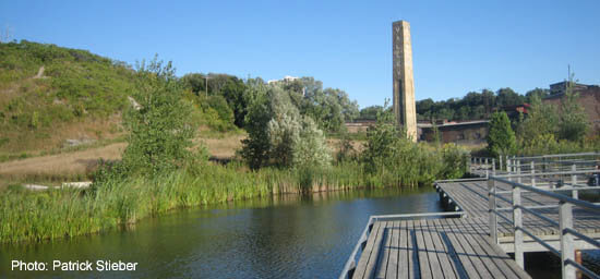 Don Valley Brickworks Park, in the Don Valley