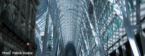 Downtown Toronto: Brookfield Place inside view