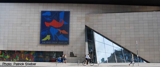 Yorkville Bata Shoe Museum, in Toronto