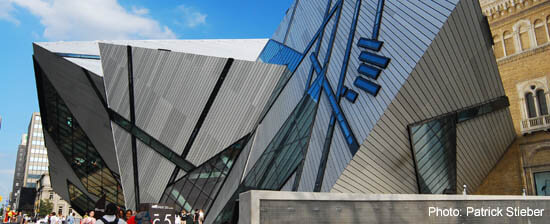Royal Ontario Museum Building, in Toronto