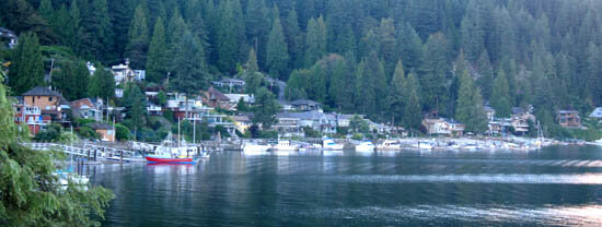 Deep Cove's Panorama Park in North Vancouver