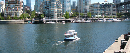 False Creek Ferry in Vancouver