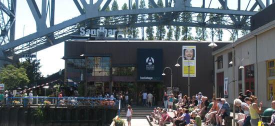 Granville Island shops in Vancouver