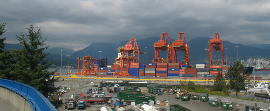Vancouver Harbour's Container Port