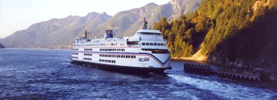 Horseshoe Bay: BC Ferryleaving the terminal