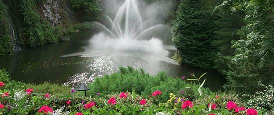 Brentwood Bay: Butchart Gardens, near Victoria