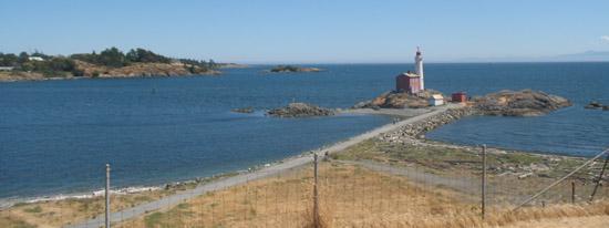 Colwood's Fisgard Lighthouse, near Victoria