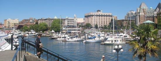 Victoria Inner Harbour View from Belleville Street