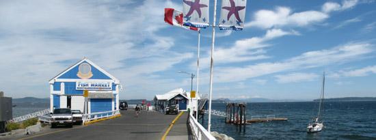 Sidney Beacon Ave Pier, near Victoria