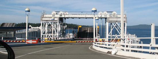Swartz Bay Ferry Dock View, near Victoria