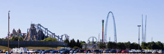 Paramount Canada's Wonderland in nearby Vaughan