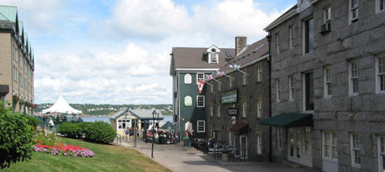 Halifax Historic Properties, on the waterfront