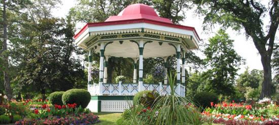 Cupola in the Halifax Public Gardens