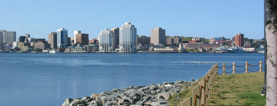 Halifax Waterfront, view from Dartmouth