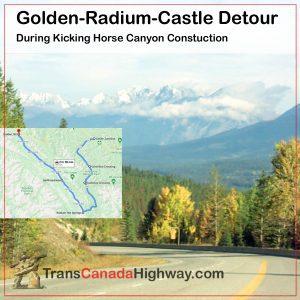 BC-Itinerary - Golden-Radium-Castle detour