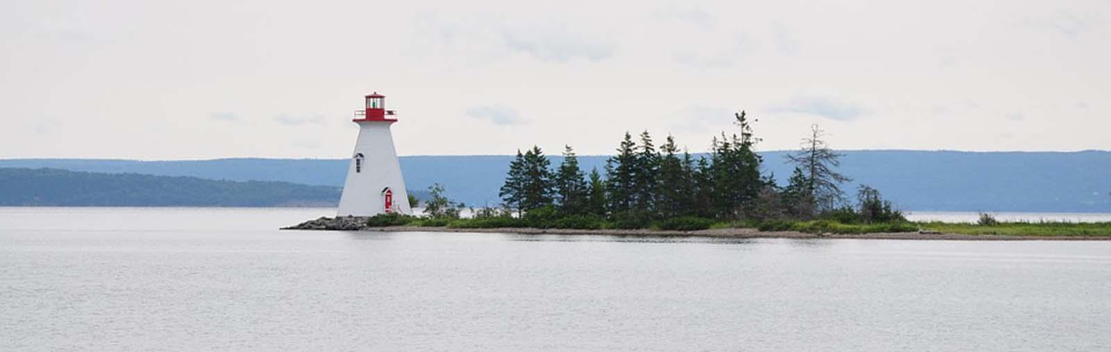 Baddeck Lighthouse- sliver