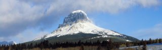 Crowsnest Mountain - at Crowsnest Pass