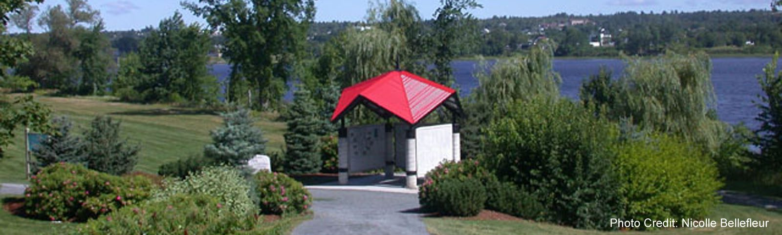 Fredericton - Bike Path Park - Information Center - sliver (Nicolle Bellefleur)