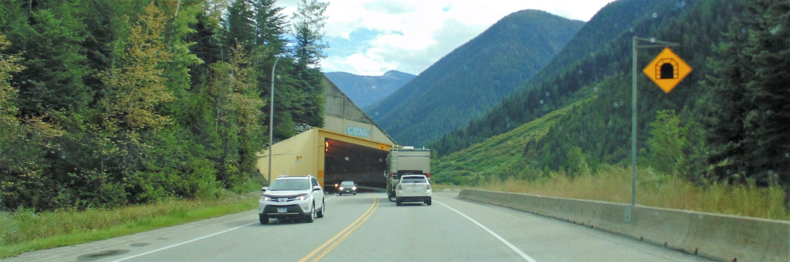 Glacier National Park-TCH Showshed View