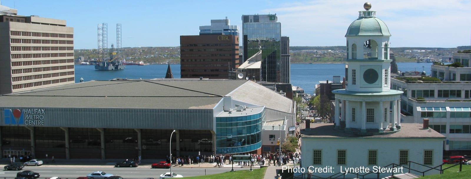 Halifax - view from Citadel Hill - sliver (Lynette Stewart)