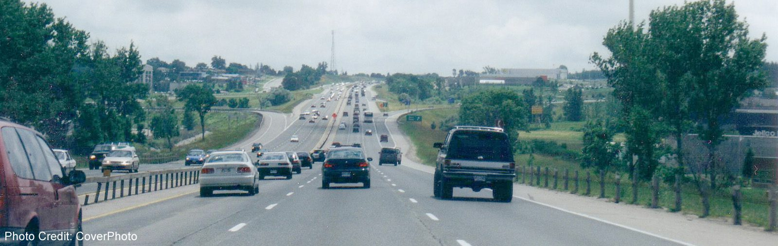 Highway 400 South Of Barrie 2 -sliver (CoverPhoto)