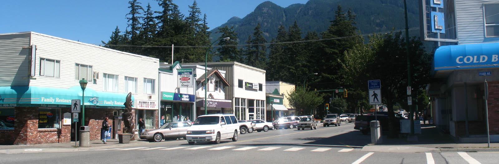 Hope - storefronts on main street -sliver