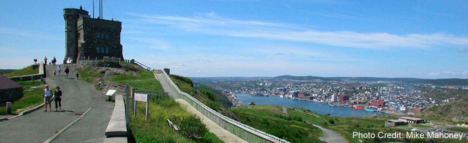 St John's - Signal Hill view of city-sliver (Mike Mahoney)