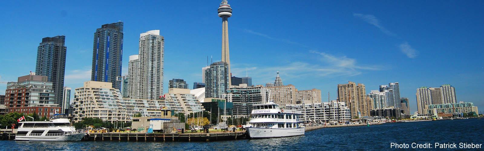Toronto - Island Airport view of Downtown Skyline -sliver (Patrick Stieber)