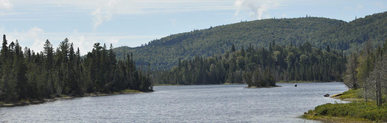 Northern ontario river