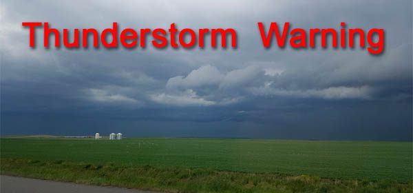 Weather-Thunderstorm Warning