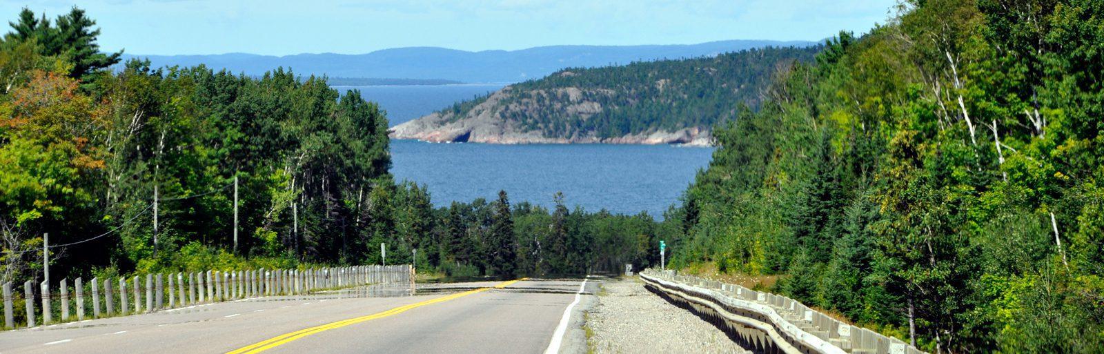 North of Sault Ste Marie- Pancake Bay