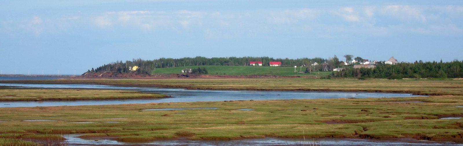 Trantramar Marsh- northern NovaScotia - sliver