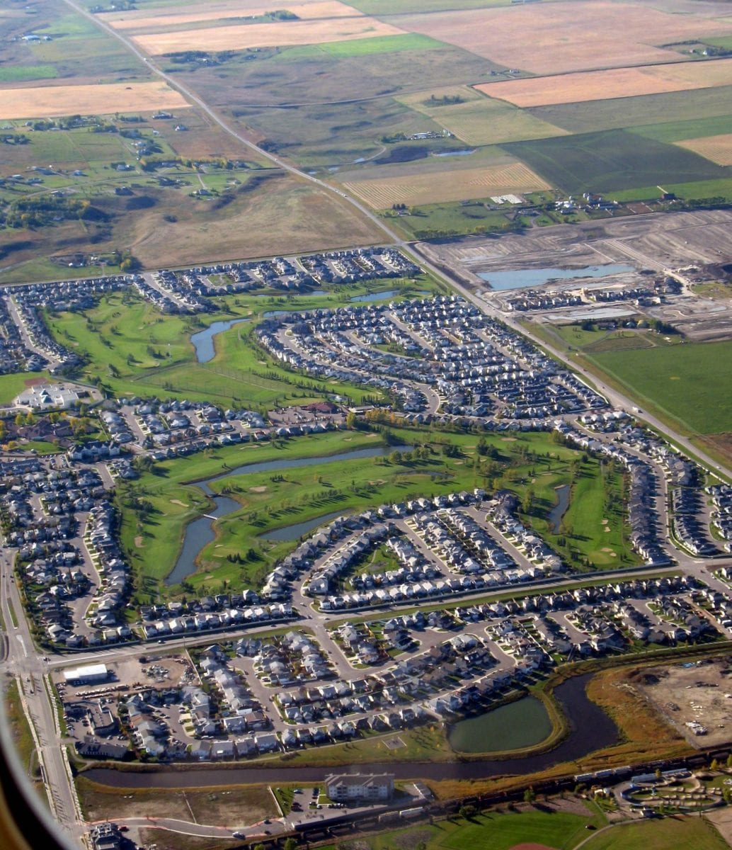 Airdrie-Woodside-Aerial View